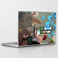 laptop Laptop & iPad Skins featuring Laptop by Josue Noguera