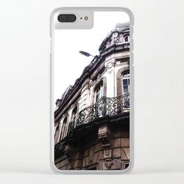 Bogota street - architecture latinoamerica Clear iPhone Case