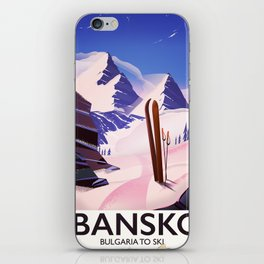 Bansko Bulgaria To Ski iPhone Skin