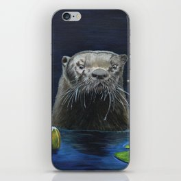 The River Otter by Teresa Thompson iPhone Skin