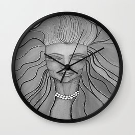 Feel The Wind Wall Clock