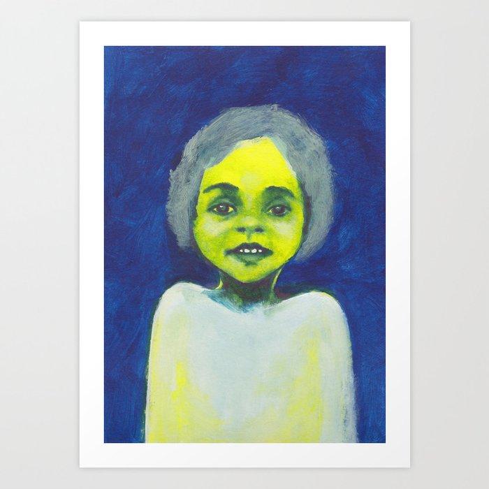 Les petites filles I.7 Art Print