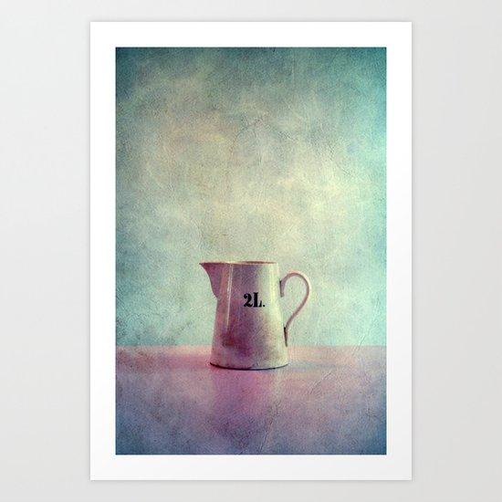 deux litres Art Print