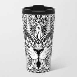 Tiger Mandala Travel Mug