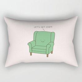 Cozy chair Rectangular Pillow