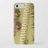 the neighbourhood iPhone & iPod Cases featuring NEIGHBOURHOOD by Nick Lemmens