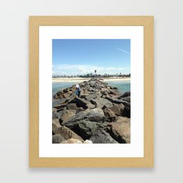 Mexico To The Right Framed Art Print