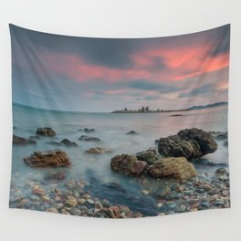 sea nature beach 4 Wall Tapestry