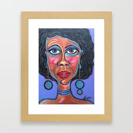Unbalanced Ursula Framed Art Print