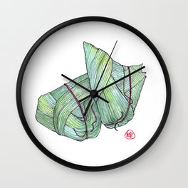 Zongzi Wall Clock