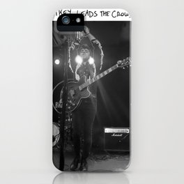 Birds in the Boneyard, Print 14: Mikey Leads the Crowd iPhone Case