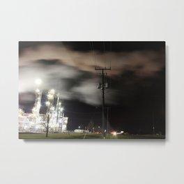 Ethanol. Metal Print