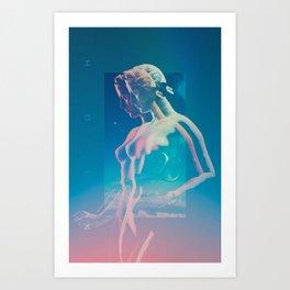 Echo Wave Art Print