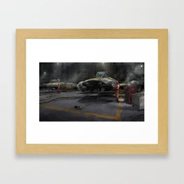 Y-Wing Hangar Framed Art Print
