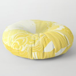 Solar Flare Floor Pillow
