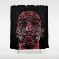 dali Shower Curtains featuring Dali by Blake Byers