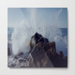 Make mine with a splash of water on the rocks Metal Print