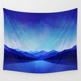 Midnight Blue Wall Tapestry