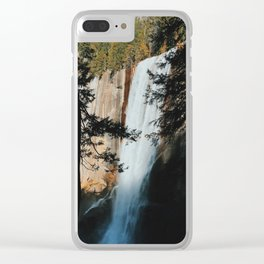 Vernal Fall Clear iPhone Case