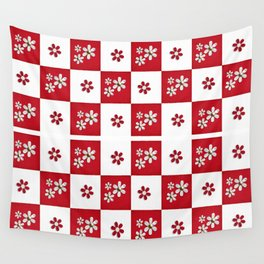 red and white beauty  Wall Tapestry