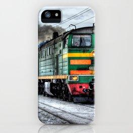 Diesel Train Locomotive iPhone Case