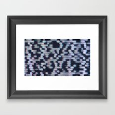 Painted Attenuation 1.2.3 Framed Art Print