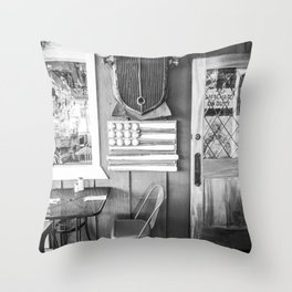 Vintage Bar Throw Pillow