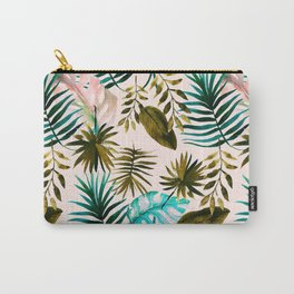Painting watercolor leaves Carry-All Pouch