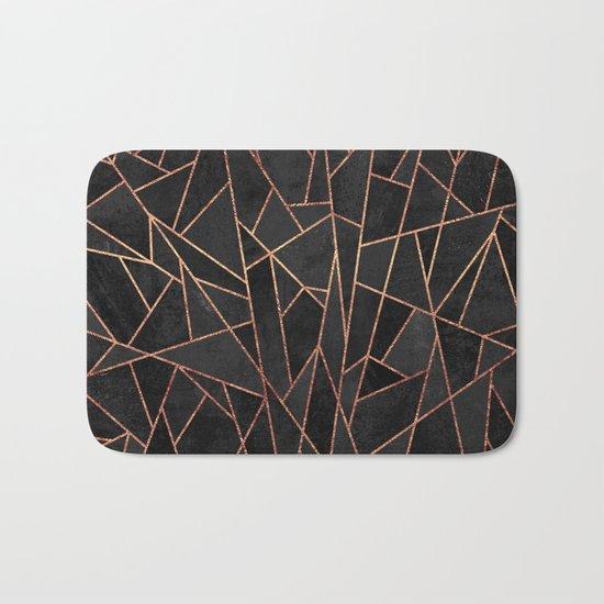 Shattered Black / 2 Bath Mat