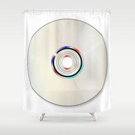Blank DVD  Shower Curtain