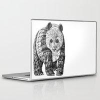 panda Laptop & iPad Skins featuring Panda by BIOWORKZ