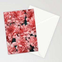 flores naranjas Stationery Cards