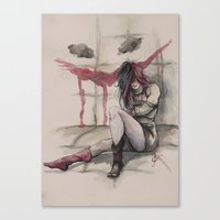 harley Canvas Prints featuring Harley by Alonzo Canto