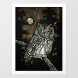 Night Vision Art Print