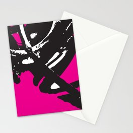 Abstract Hornet Stationery Cards