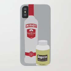 Vodka & Aspirin Slim Case iPhone X