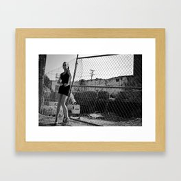 Caitlin Framed Art Print