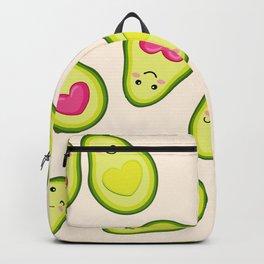 Avocado love seamless pattern Backpack
