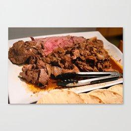 Delicious Delicious Lamb! Canvas Print