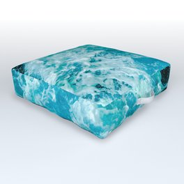 Sea Me Waving Outdoor Floor Cushion