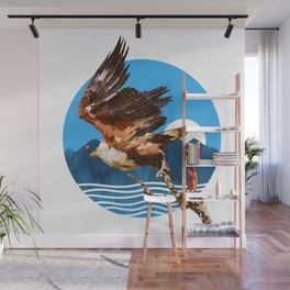 Eagles Fly Wall Mural