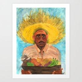 El Jibaro Art Print
