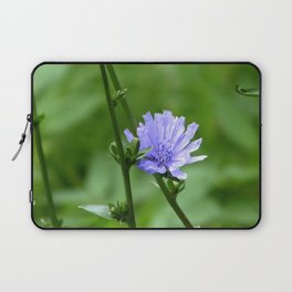 Nature's Garden Purple And Green Laptop Sleeve