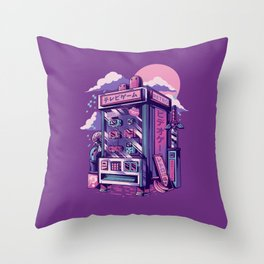 Retro gaming machine Throw Pillow