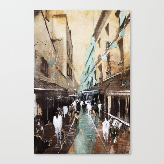 Paris painting Canvas Print