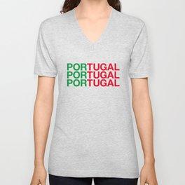 PORTUGAL Unisex V-Neck