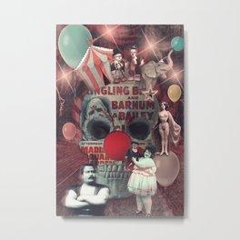 Circus skull Metal Print