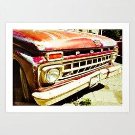 Ford Tough (2) Art Print
