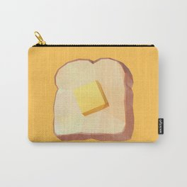 Toast with Butter polygon art Carry-All Pouch