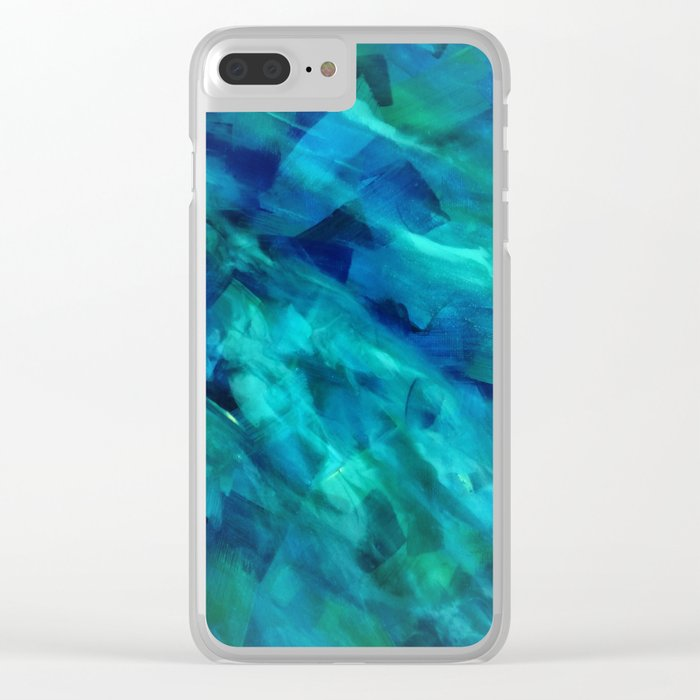 Turbulence Clear iPhone Case